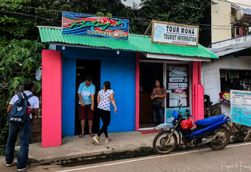 Coron Island Hopping: Tour Mona booking office Coron