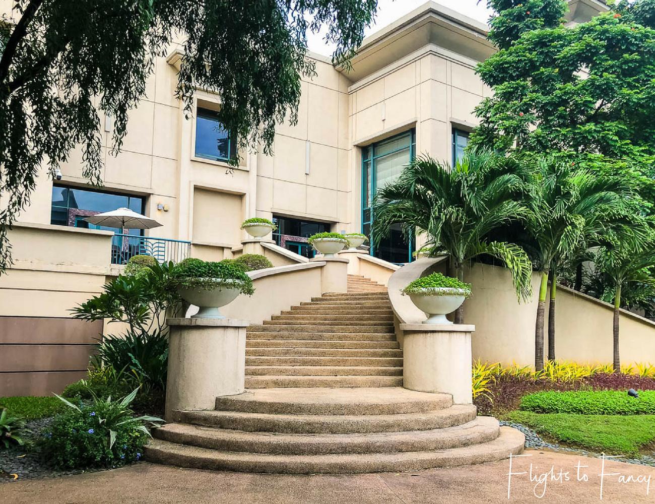 Flights To Fancy @ Radisson Blu Cebu City. Outdoor steps. Hotel near SM Cebu City