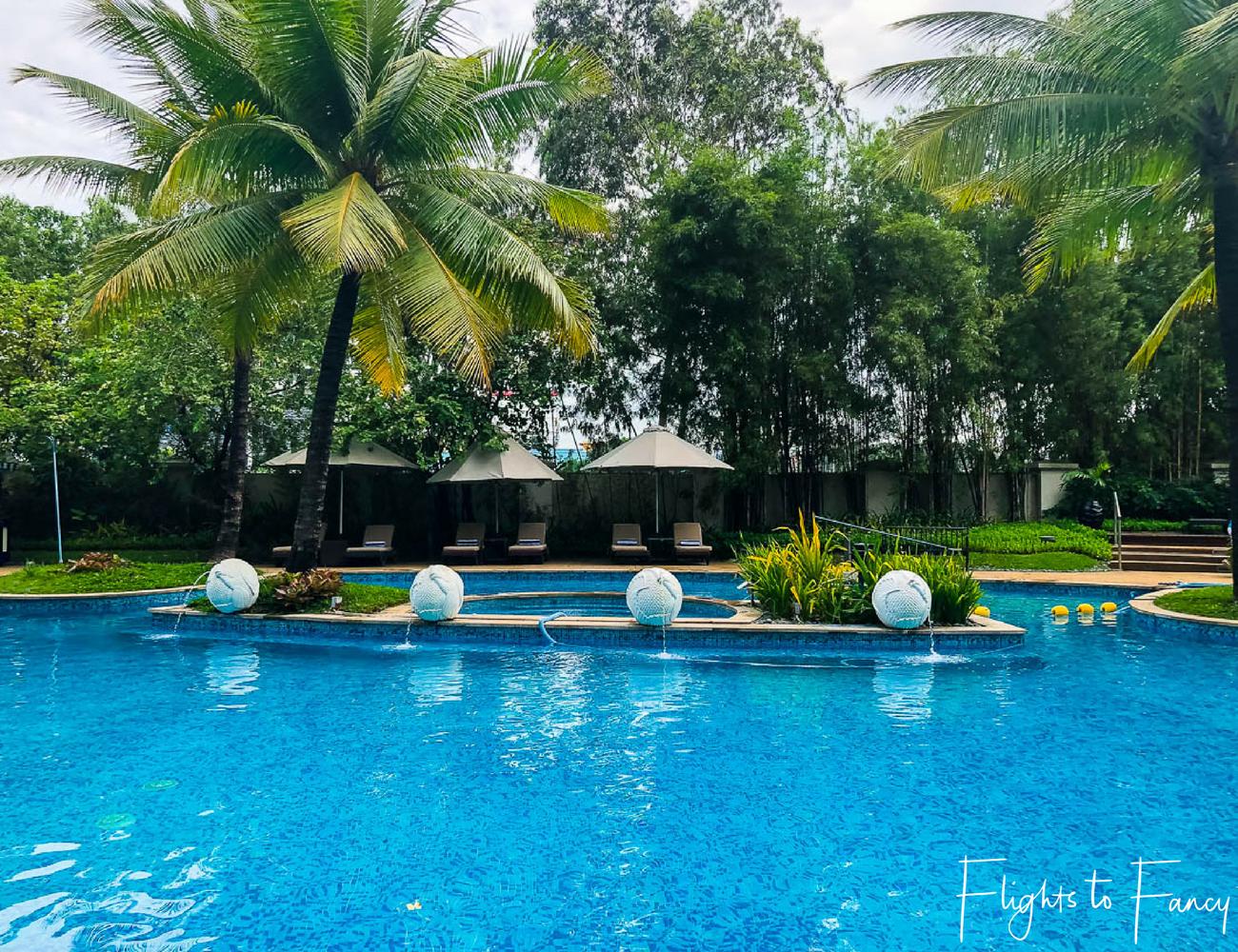 Flights To Fancy @ Radisson Blu Cebu City. Pool