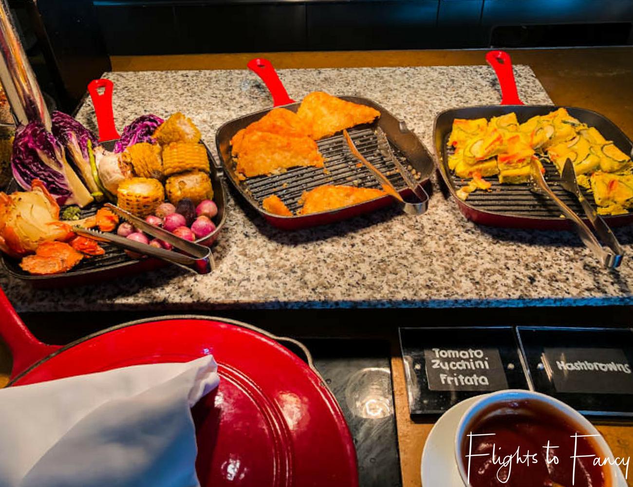Flights To Fancy @ Raffles Makati Manila - Breakfast Veges