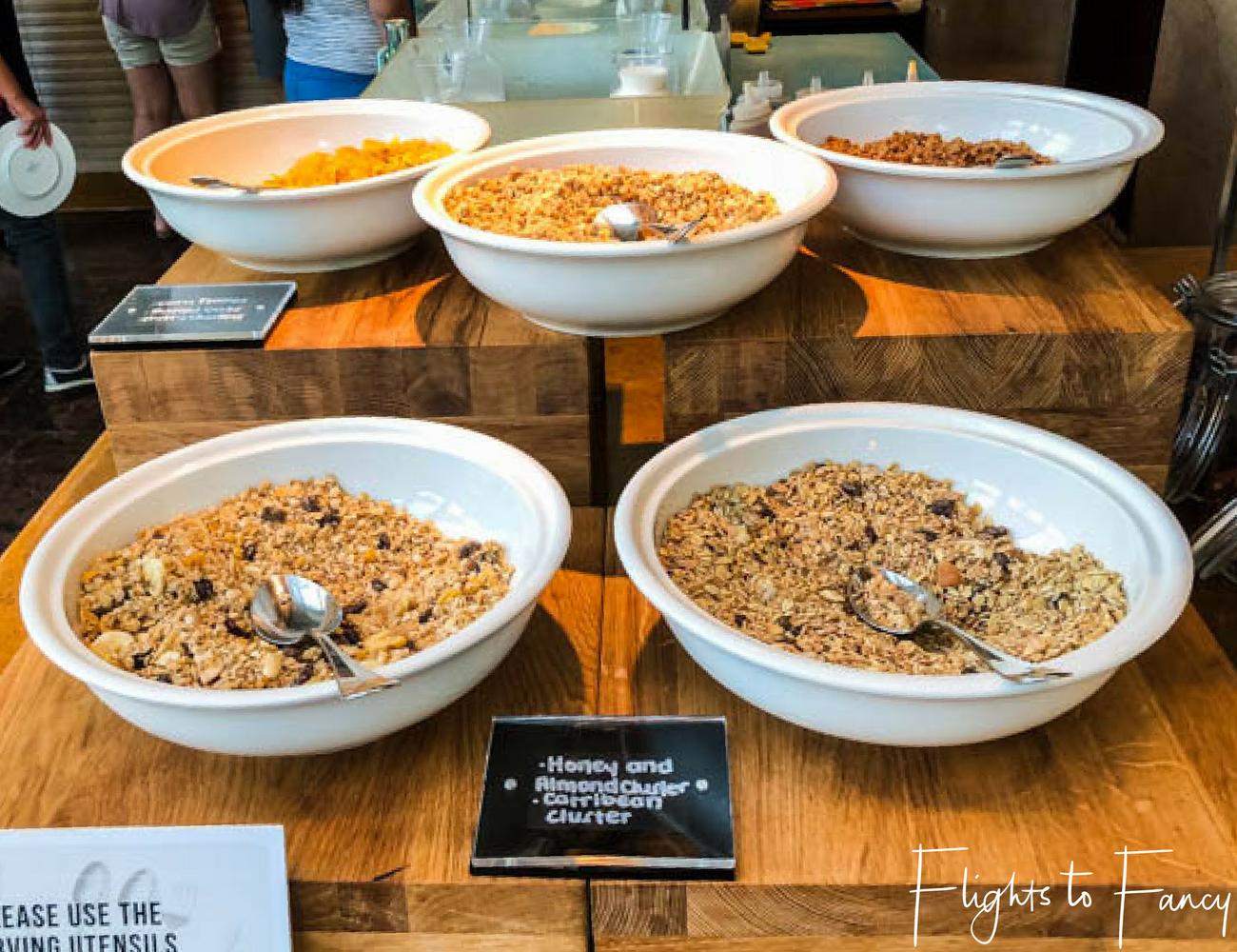 Flights To Fancy @ Raffles Makati Manila - Cereal Breakfast Buffet