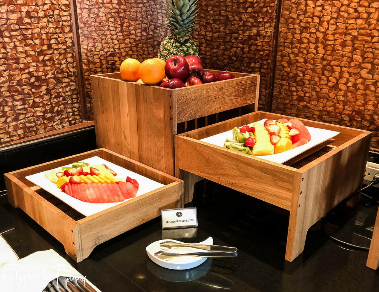 Flights to Fancy - Fairmont Makati Gold Lounge Breakfast Buffet