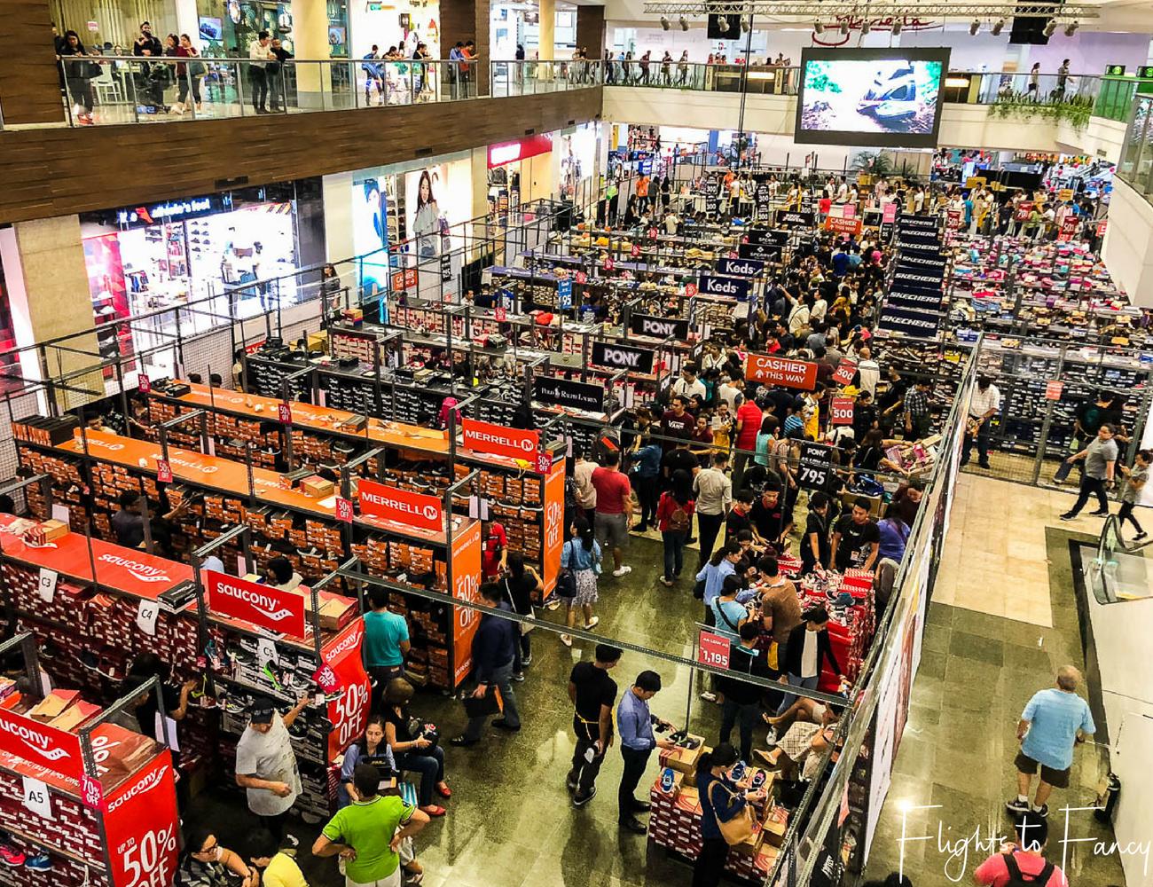 Flights to Fancy Shopping in Makati Glorietta Makati