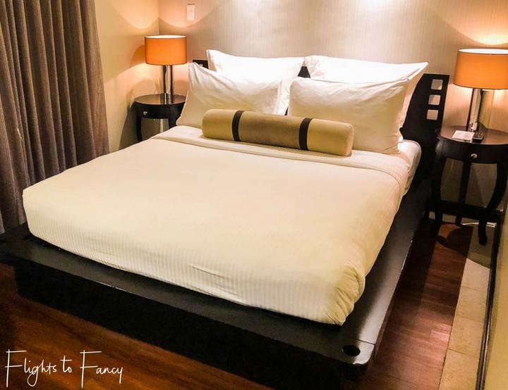 Luxury bedroom at Movenpick Beach Resort Mactan Island - Flights to Fancy