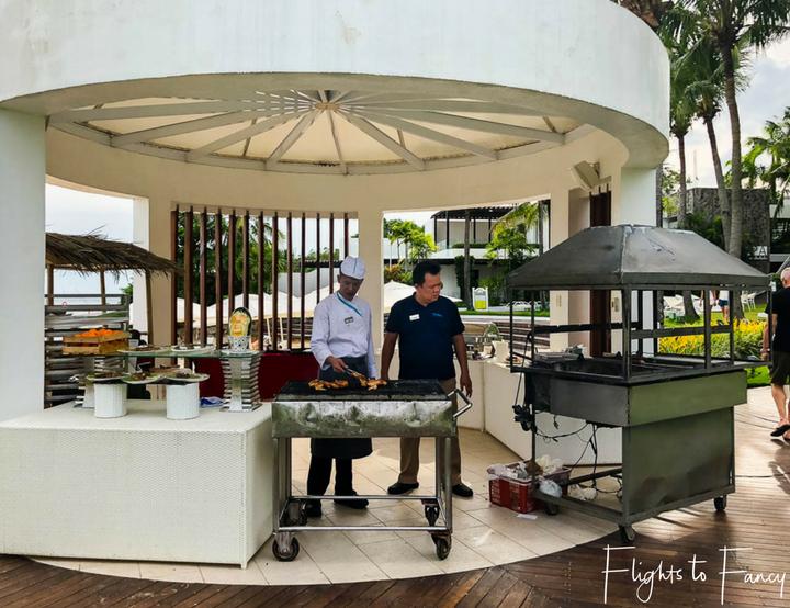 Pool Bar at Movenpick Hotel near Mactan Cebu Airport - Flights to Fancy