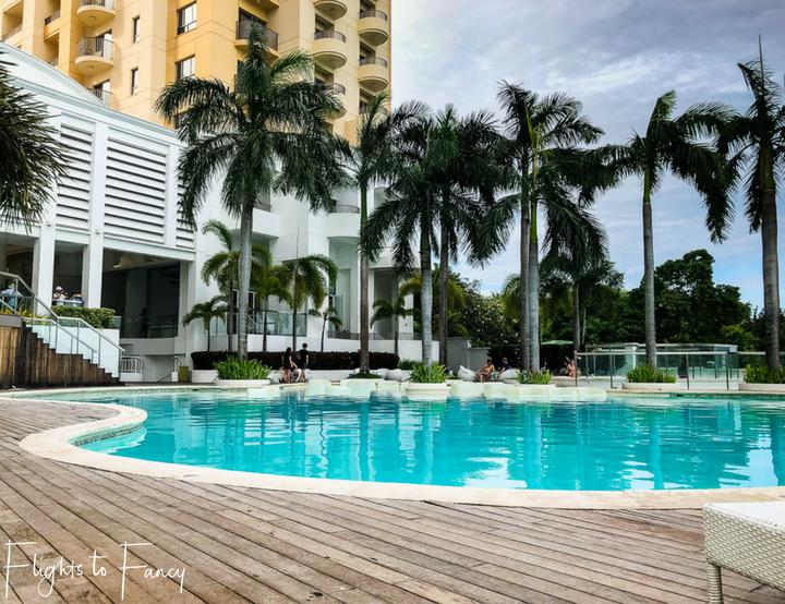 Pool at the Movenpick Hotel Mactan Island Cebu Philippines - Flights to Fancy