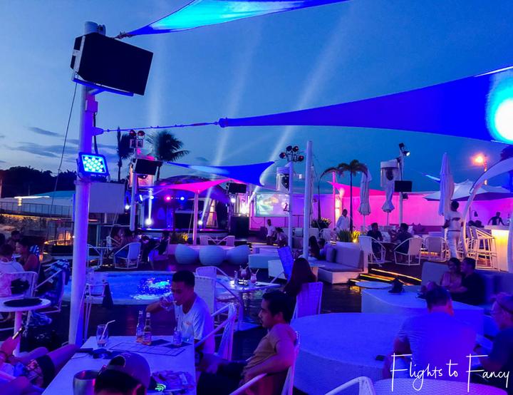 Sunset at Ibiza Beach Club Mactan Island Cebu - Flights to Fancy