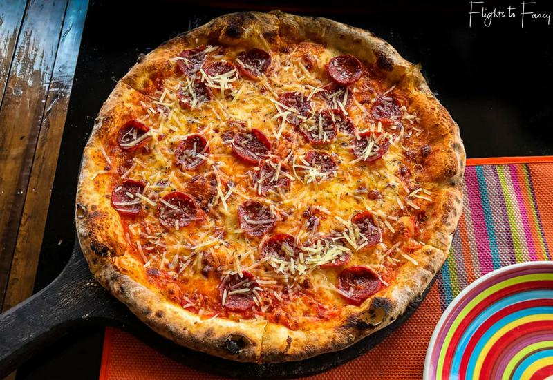Trattoria Altrove Coron Pepperoni Pizza