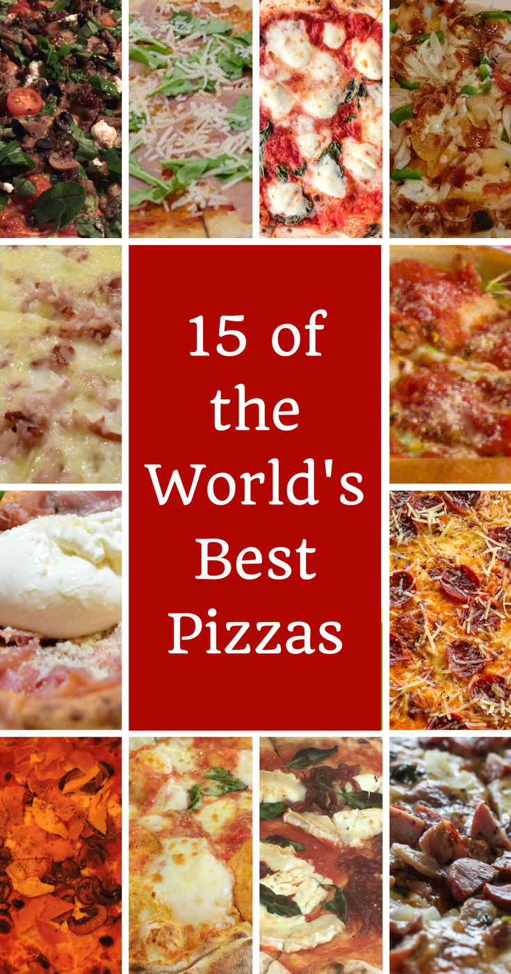 Looking for the world's best pizzas? Italy's famous dish has reached all four corners of the globe and local restaurants are producing their own amazing varieties. The worlds best pizza can be found in El Nido Philippines, Chiang Mai Thailand, Cardiff Wales and many more. Check them all out here. #pizza #worldsbestpizza #chaingmai #goa #strasbourg #playadelcarmen #cardiff #noosa #luangprabang #oslo #hanoi #toronto #capetown #stpaulsbay #sanfrancisco #bocasdeltora #elnido
