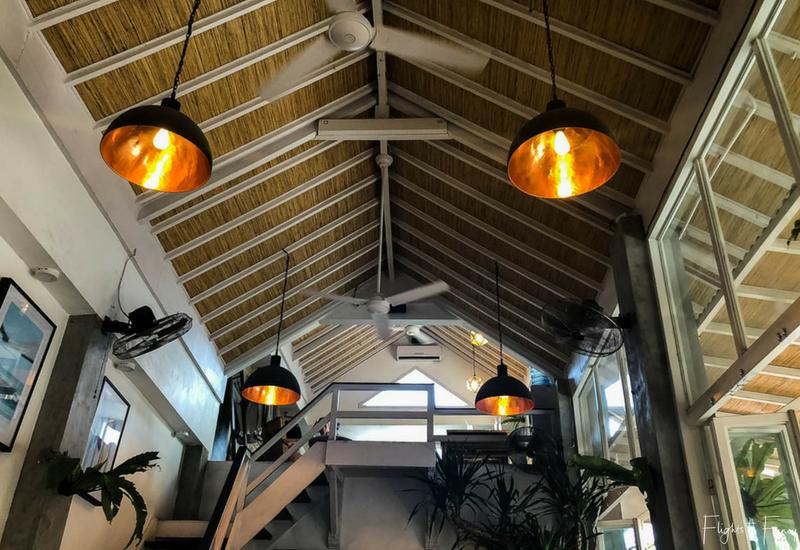 The Loft Canggu Cafe Interior