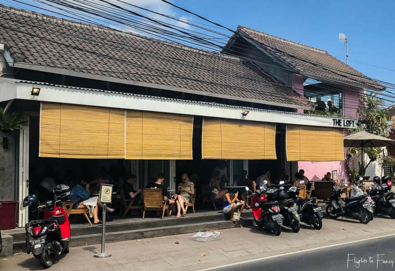 The Loft Canggu Restaurant Exterior