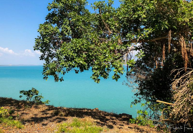 Ocean view from Bicentennial Park Darwin Esplanade