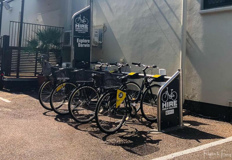 Palms City Resort Darwin Bike Hire