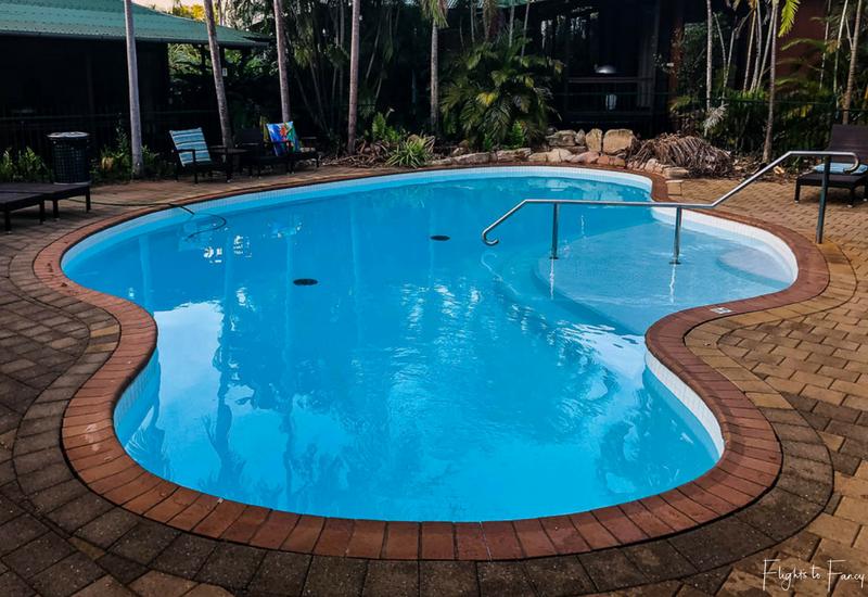 Palms City Resort Darwin Main BBQ Poolside
