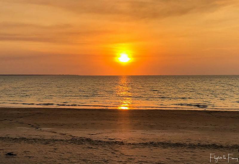 Sunset Mindil Beach Darwin