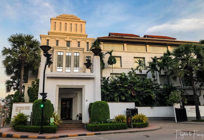 A grand entrance for the best hotel in Siem Reap @ Park Hyatt