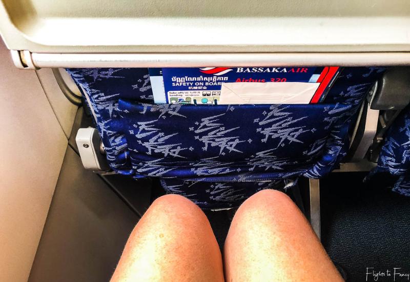 Bassaka Air Review_ Leg Room