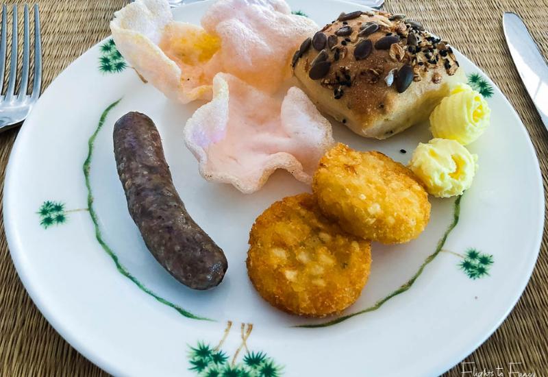 Breakfast in Phnom Penh at Raffles Hotel Le Royal