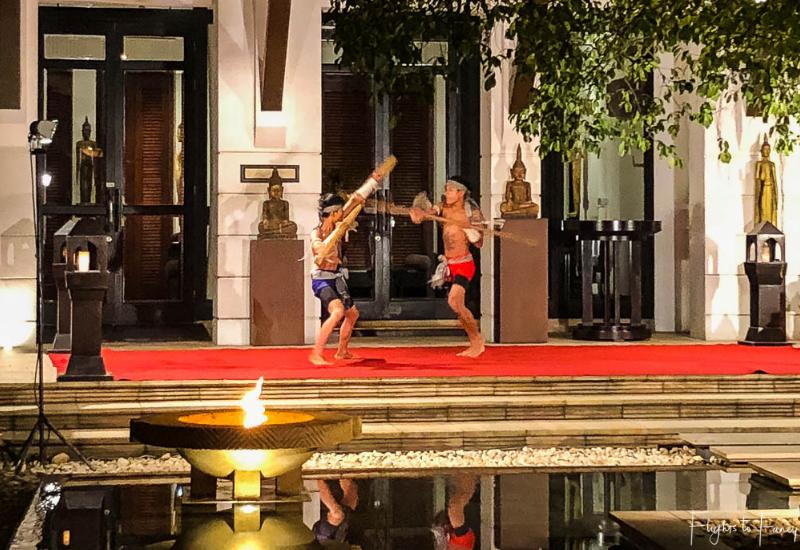 Evening cultural show at Park Hyatt Siem Reap