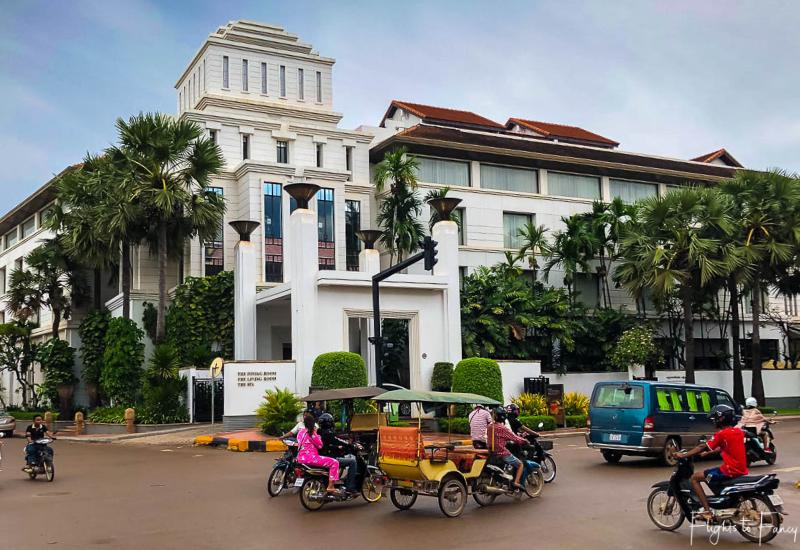 Exterior of the Park Hyatt Siem Reap