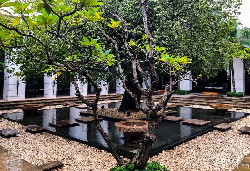 Feature Tree in The Park Hyatt Siem Reap Courtyard