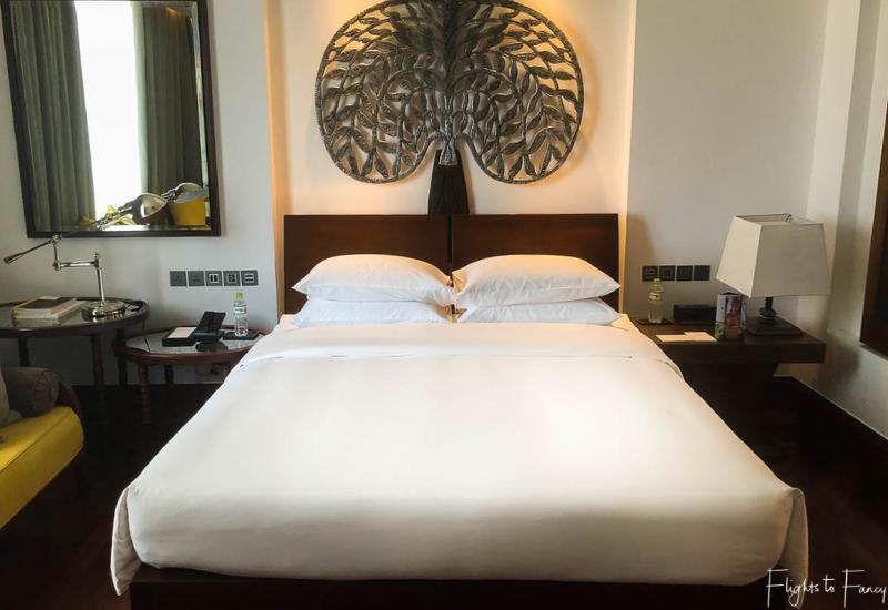 Hotel room at Hyatt Siem Reap