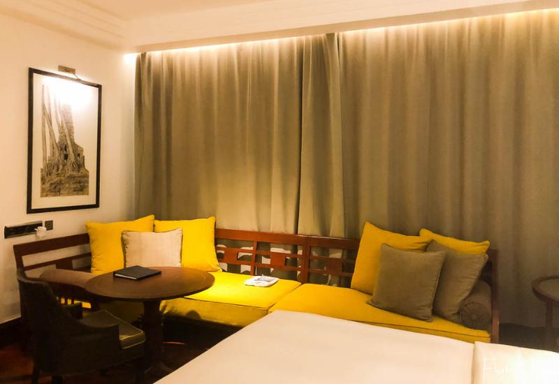 Hotel room at the Hyatt Siem Reap