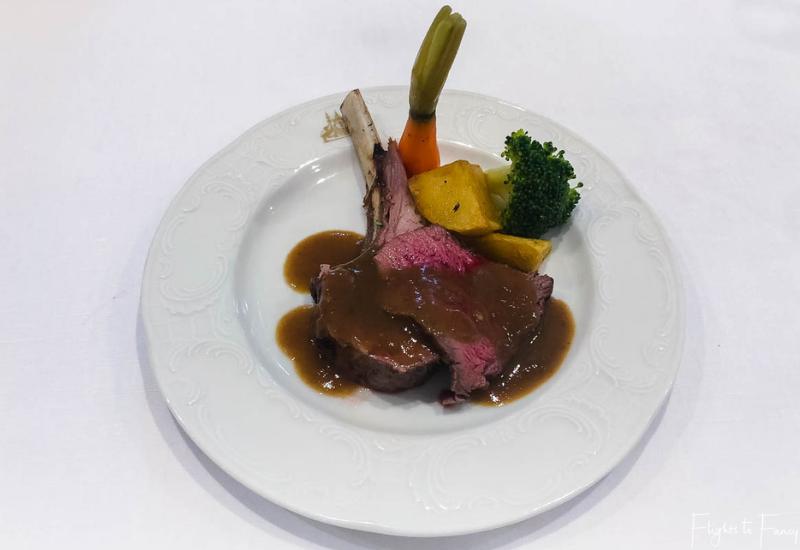 Lamb cutlets brunch Phnom Penh Raffles Hotel Restaurant
