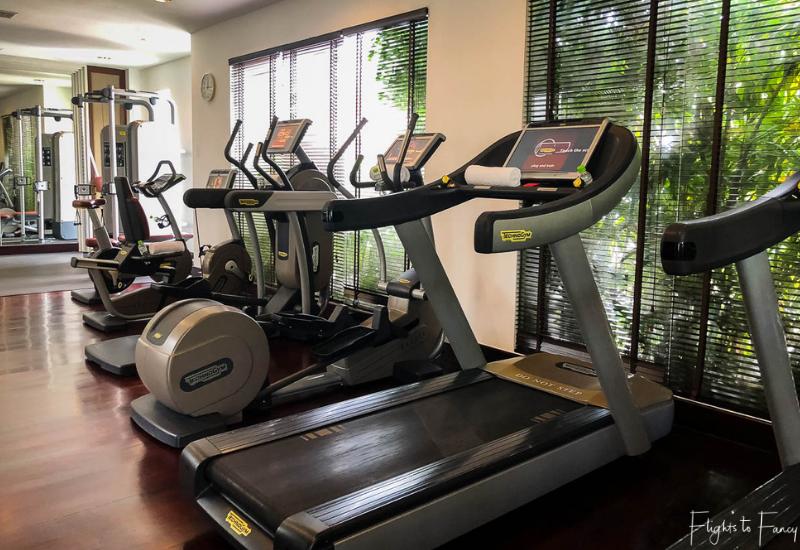 Of course the best hotel in Seim Reap has a gym @ Park Hyatt