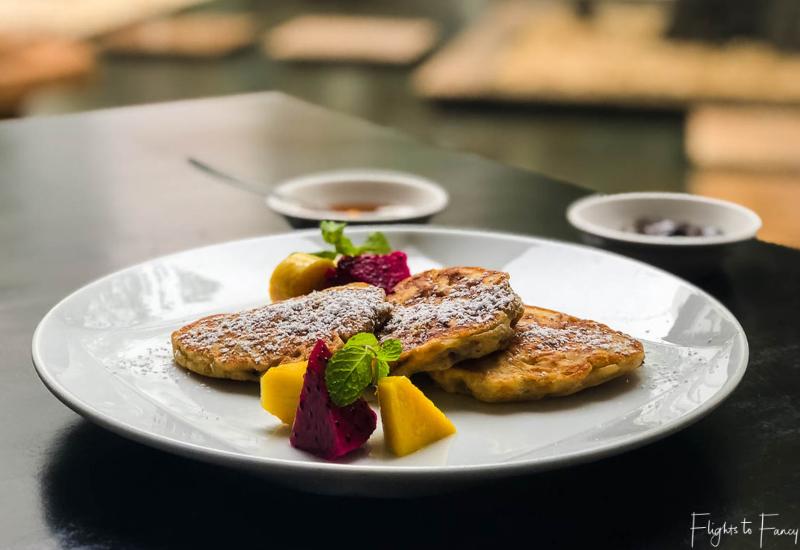 Pancakes Siem Reap Breakfast at the Park Hyatt