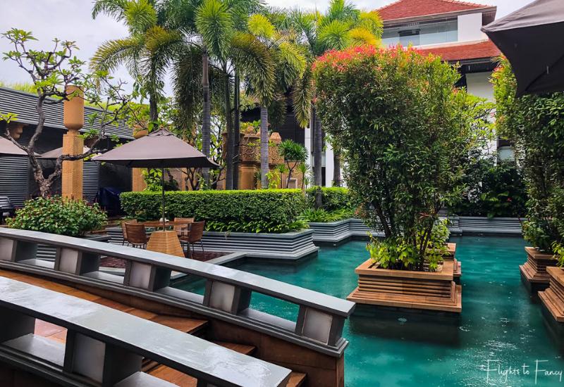 Poolside At The Park Hyatt Luxury Hotel In Siem Reap