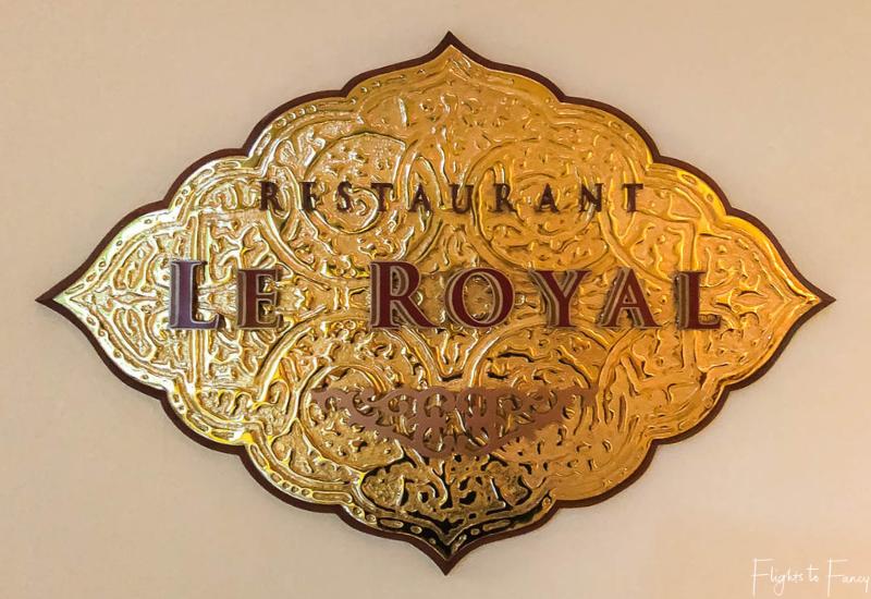 Raffles Hotel Restaurant
