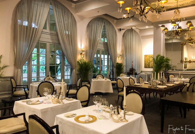 Restaurant Le Royal Raffles Phnom Penh