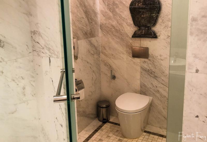 Separate toilet in our luxury villa Siem Reap @ Park Hyatt