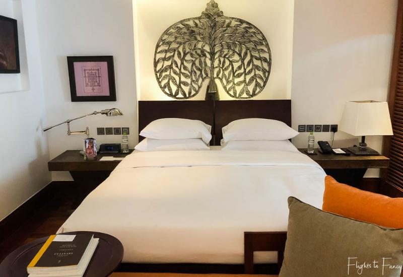 The bedroom in our luxury villa Siem Reap @ Park Hyatt