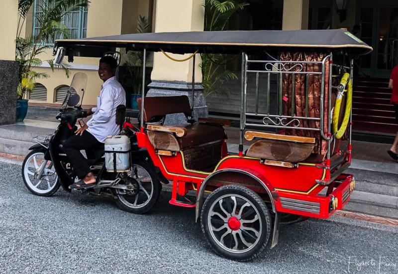 Transport in Phnom Penh - Remorque