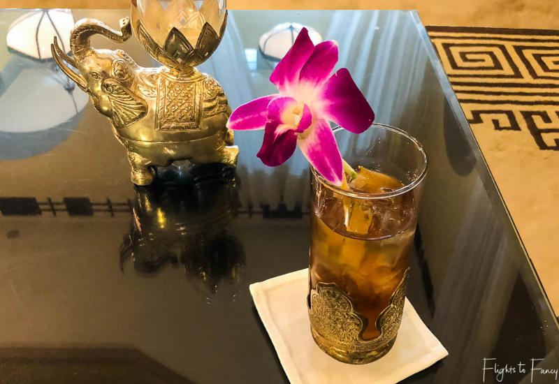 Welcome drink Raffles Hotel Le Royal Phnom Penh