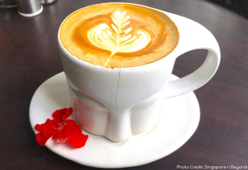 Coffe Mug Mudra Ubud Restaurant