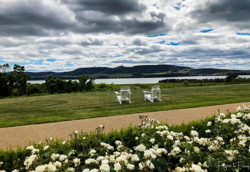 Best Wineries In Tasmania: Riversdale Estate Winery Lawn