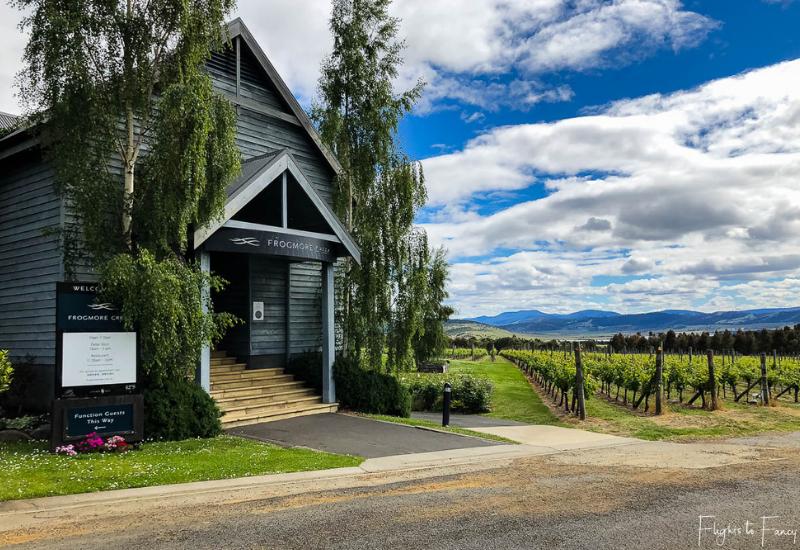 Hobart Wineries: Frogmore Creek Winery Cellar Door