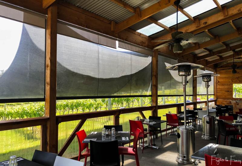 Wineries Near Hobart: Bruny Island Premium Wines Restaurant