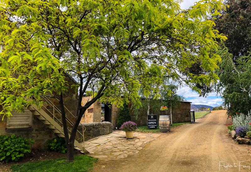 Wineries Near Hobart: Pooley Wines Cellar Door