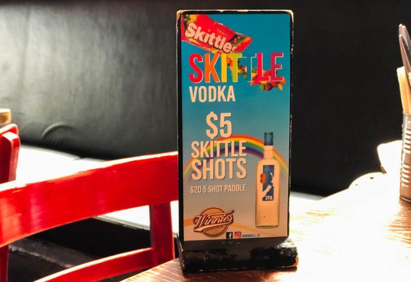 Winnies Queenstown $5 Vodka Shots