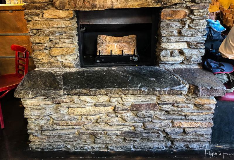 Winnies Queenstown Fireplace