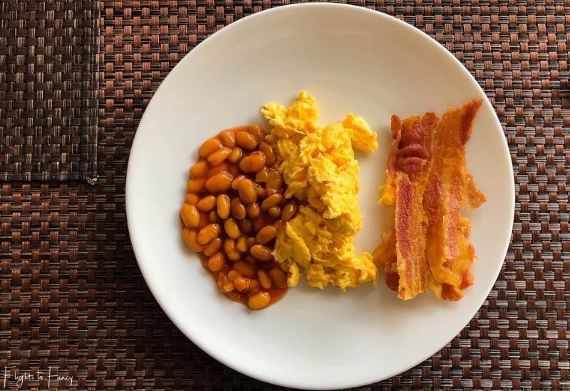 Cooked breakfast at Sabai Restaurant Impiana Koh Samui luxury hotel