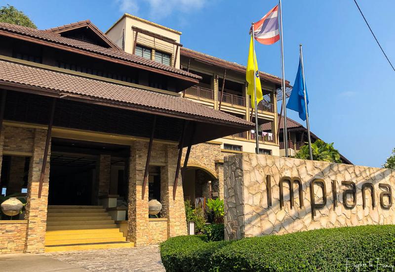 Front Entrance Impiana Resort Chaweng Noi