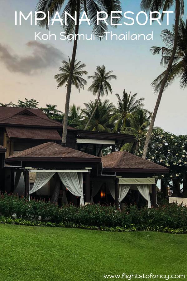 Koh Samui Luxury Hotel Review: Impiana Resort Chaweng Noi is a lavish beachfront luxury hotel in Koh Samui Thailand that ticks all the boxes. #thailand #kohsamui #impiana #kohsamuiresort #kohsamuihotel #travel #luxurytravel