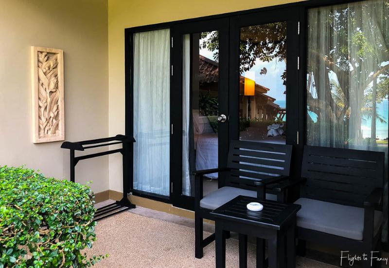 Patio Superior Seaside Room Impiana Resort Chaweng Noi Koh Samui