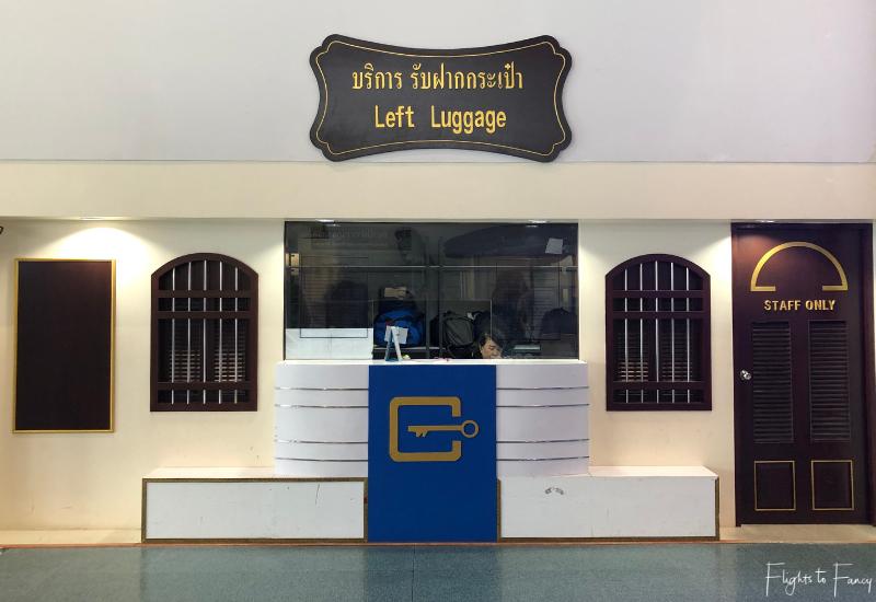 Phuket International Airport Luggage Storage