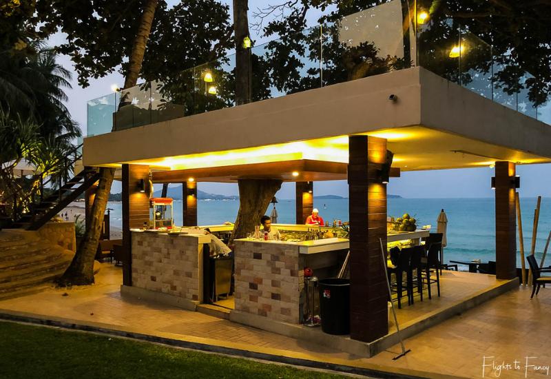 Sunset @ Beach Bar Impiana Resort Chaweng Noi